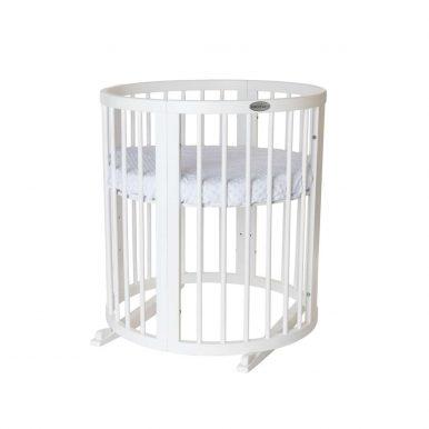 Detská rastúca postieľka SMART BED 9v1 biela