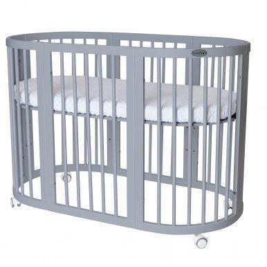 Detská rastúca postieľka SMART BED 9v1 sivá