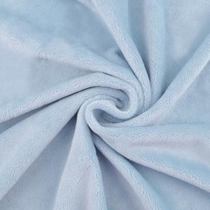 Plyš modrá