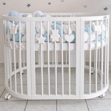 Magnetická dekorácia pre detské postieľky SMART BED – medvedík
