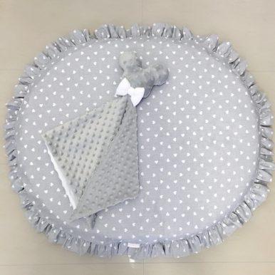 Vzorovaný návlek na MINI matrac – hracia podložka
