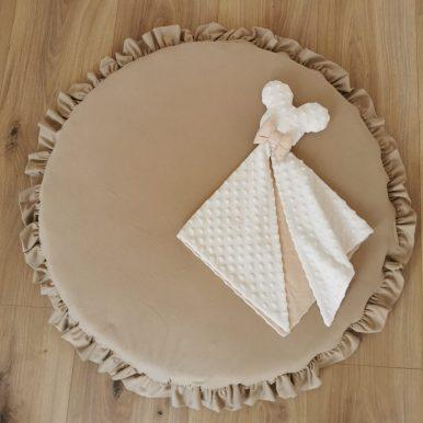Jednofarebný návlek na MINI matrac – hracia podložka