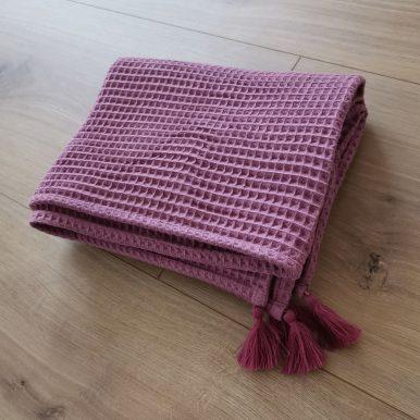 Detská deka so strapcami