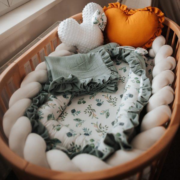 Detské hniezdo mušelínové