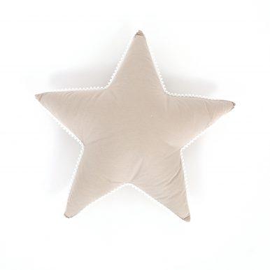 Vankúš Hviezda bavlnená s guličkami