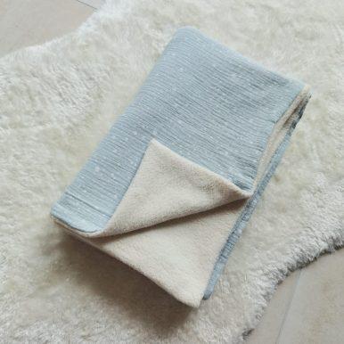 Detská deka Baránok mušelín