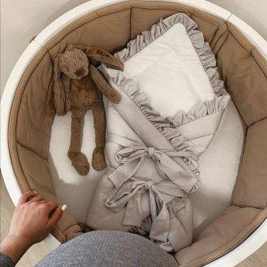 Bavlnený mantinel do postieľky SMART BED