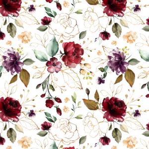 Burgundy kvety