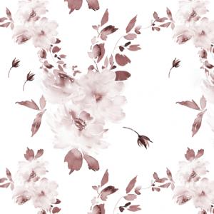 Tmavostaroružové kvety